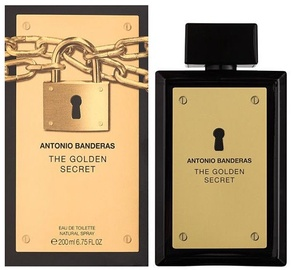 Tualetes ūdens Antonio Banderas The Golden Secret 200ml EDT