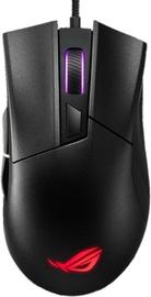 Žaidimų pelė Asus ROG Gladius II Core Black, laidinė, optinė