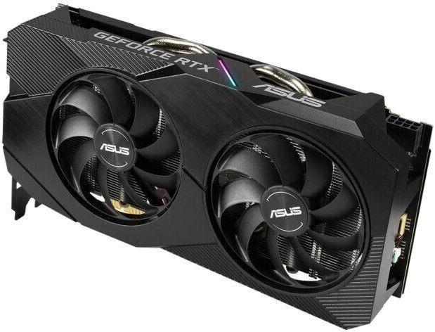 Asus GeForce Dual RTX 2060 Evolution OC 6GB GDDR6 PCIE DUAL-RTX2060-O6G-EVO