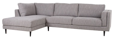 Stūra dīvāns Home4you Lisbon 28534, pelēka, 175 x 289 x 89 cm