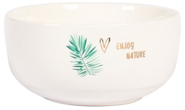 Home4you Time to Relax Bowl 300ml White/Gold