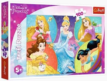 Puzle Trefl Disney Princess, 100 gab.