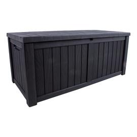 Dārza kaste Home4you Praia 28562, 450 l, 675 mm x 1430 mm x 605 mm