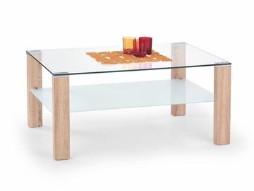 Kavos staliukas Simple H ąžuolo spalvos, 100 x 60 x 55 cm