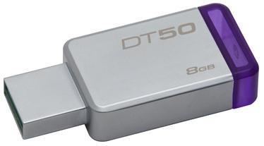 Kingston 8GB DataTraveler 50 USB 3.0 Metal/Purple