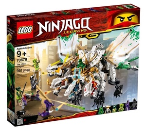Konstruktorius LEGO Ninjago The Ultra Dragon 70679