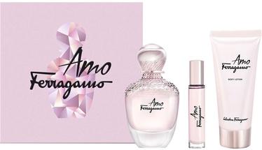 Набор для женщин Salvatore Ferragamo Amo Ferragamo 3pcs Gift Set 210 ml