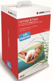 AgfaPhoto Cartridge & Paper AMOC120