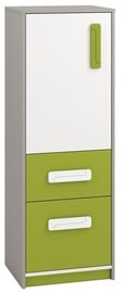 ML Meble Chest Of Drawers IQ 08 Green