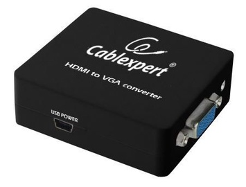 Gembird Adapter VGA / HDMI / Jack 3.5 Black