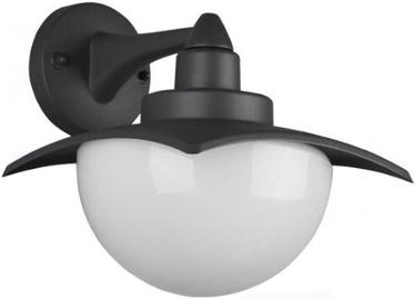 Trio Donez антрацитовый / белый настенный светильник, IP44, 1x E27