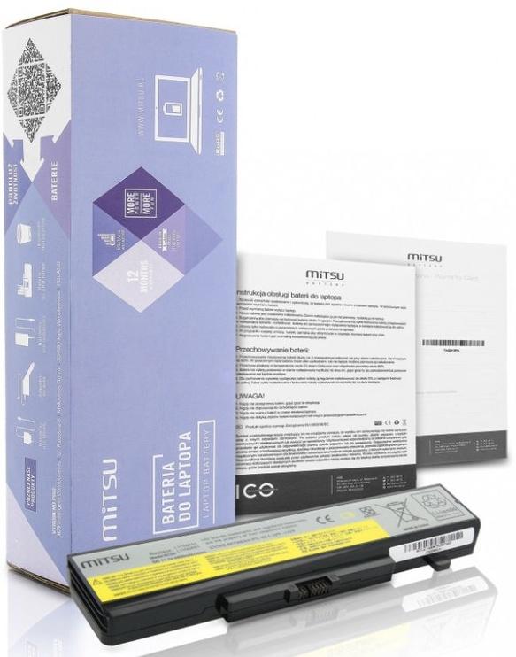 Mitsu Battery For Lenovo IdeaPad Y480 4400mAh