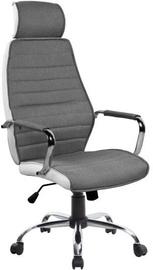 Biroja krēsls Signal Meble Q-035 Gray/White
