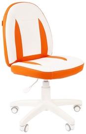 Детский стул Chairman 122 White/Orange, 600x400x965 мм