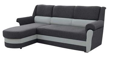 Stūra dīvāns Idzczak Meble Bruno Grey/Light Grey, kreisais, 240 x 170 x 97 cm