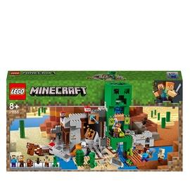 Konstruktors LEGO® Minecraft Creeper™ raktuves 21155, 834 gab.