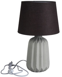 Verners Anitra Desk Lamp 60W E27 Grey/Dark Brown