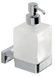 Inda Lea Liquid Soap Dispenser With Holder
