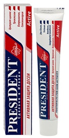 President Active Toothpaste 75ml