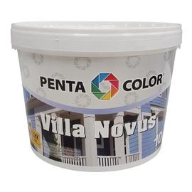 Fasādes krāsa villa novus zaļa 10l (pentacolor)