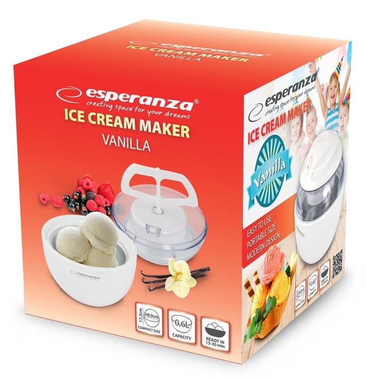 Ledų gaminimo aparatas Esperanza Vanilla EKI001 White