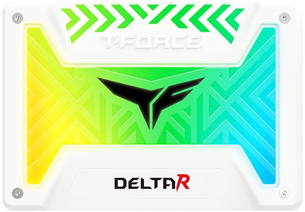 Team Group T-Force Delta R SSD 250GB SATAIII White T253TR250G3C415