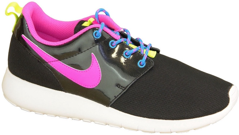 Nike Running Shoes Roshe One Gs 599729-011 Black 36.5