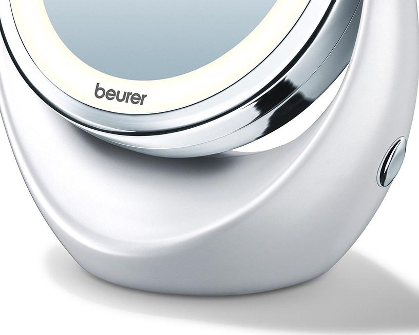 Meigipeegel Beurer BS 49 White, valgustusega, teisaldatav, 16.3x19 cm