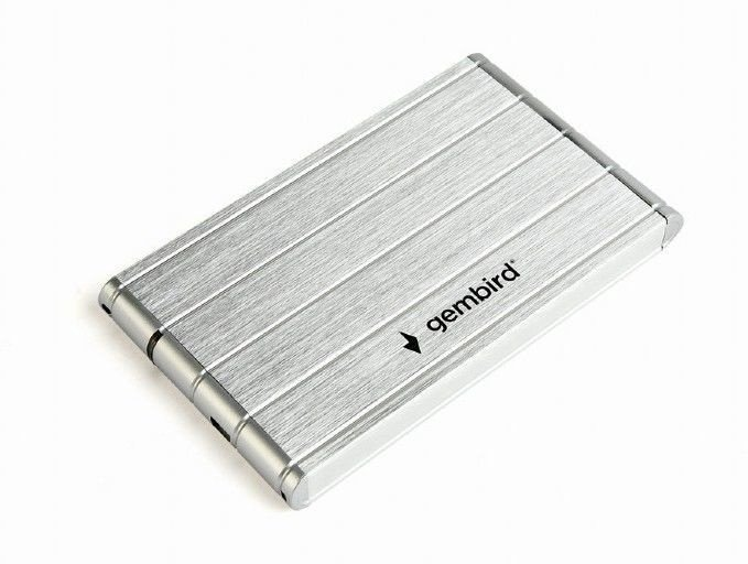 "Gembird EE2-U3S-5 2.5"" USB 3.0 Silver"
