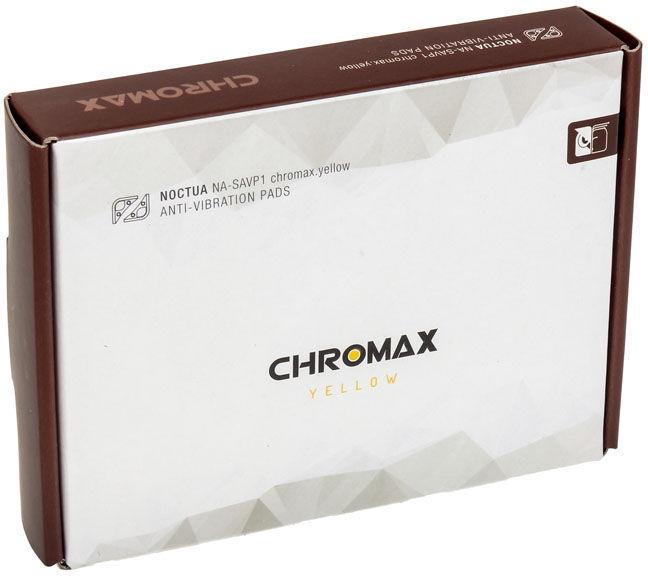 Noctua NA-SAVP1 Chromax Yellow Anti Vibrations Pads