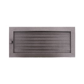 Решетка камина NORDFlam Fireplace Grill 370x170mm with Blinds Silver