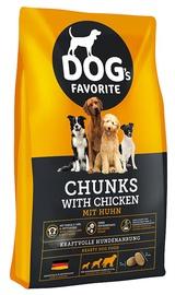 Сухой корм для собак Happy Dog Dog´s Favorite Chunks with Chicken, 15 кг