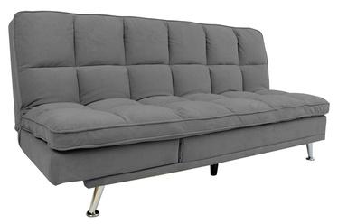 Dīvāngulta Home4you Monza 3-Seater, pelēka, 189 x 95 x 98 cm