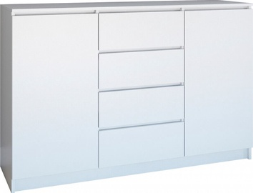 Top E Shop Roma 140 Chest of 2 Doors 4 Drawers White
