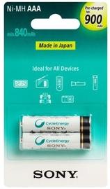 Sony Premium Rechargeable AAA/HR03 900mAh
