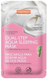 Purederm Dual-Step Aqua Sleeping Mask Peptides & Bamboo 13g