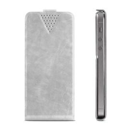 """GreenGo Sligo Universal Flip Case 4.6"""" - 5.0"""" White"""
