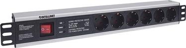 Intellinet Power Strip Rack 19'' 1.5U 250V/16A 6xSchuko 3m