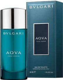 Tualetes ūdens Bvlgari Aqva Pour Homme 30ml EDT New Design