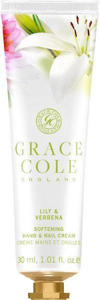 Rankų kremas Grace Cole Hand & Nail Lily & Verbena, 30 ml