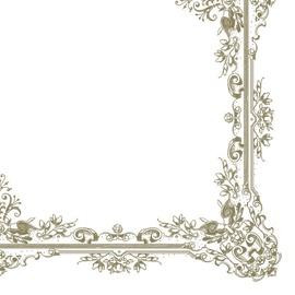 Popierinės servetėlės Slog, 33 x 33 cm, 20 vnt