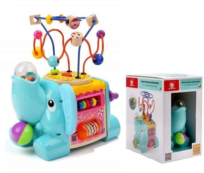 Brimarex Motor & Senses 5in1 Elephant Activity Cube