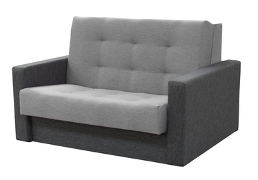 Sofa-lova Idzczak Meble Sylwia III Grey, 133 x 110 x 90 cm