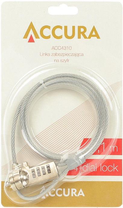 Accura Laptop Lock 1.8m ACC4312