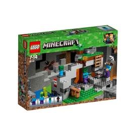 Konstruktor LEGO Minecraft, Zombikoobas 21141