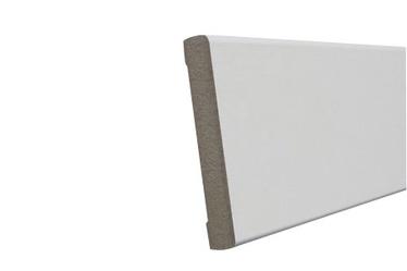 Uksepiirdeliist MDF 12x70mm 2,2m valge