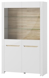 Szynaka Meble Glass Display Cabinets Ice 02 White