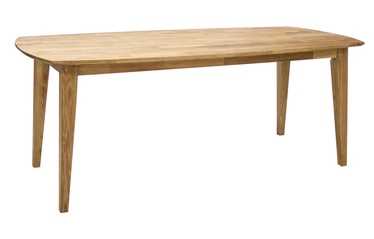 Home4you Retro Dining Table Oak