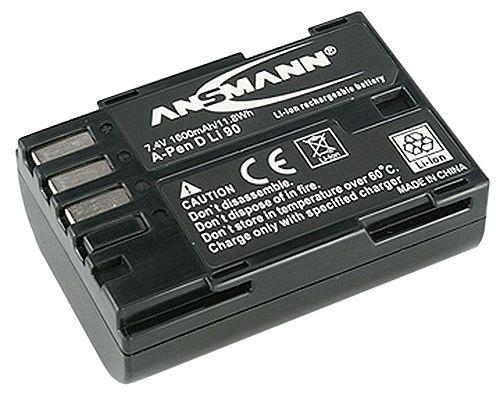 Ansmann Battery D-LI90 for Pentax 1600mAh