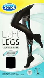 Scholl Light Legs 20 Black S/M